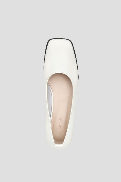 Toast Flat Shoes (Ivory)